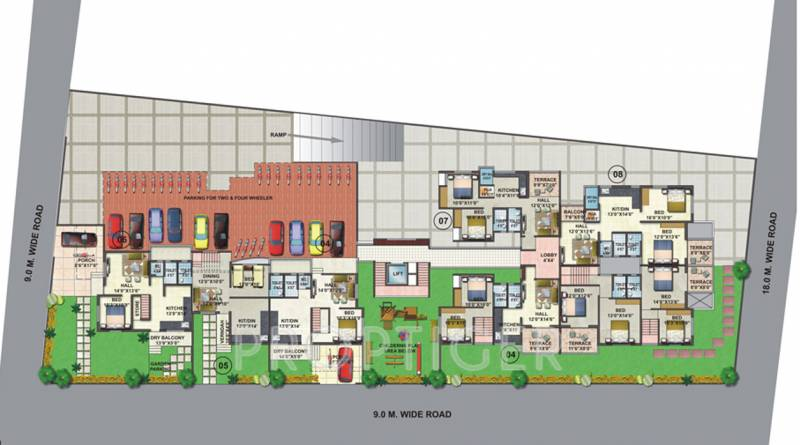 Images for Cluster Plan of Shree Apurvai