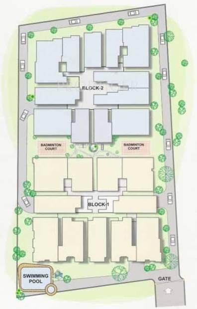 castle Images for Layout Plan of Samhita Castle