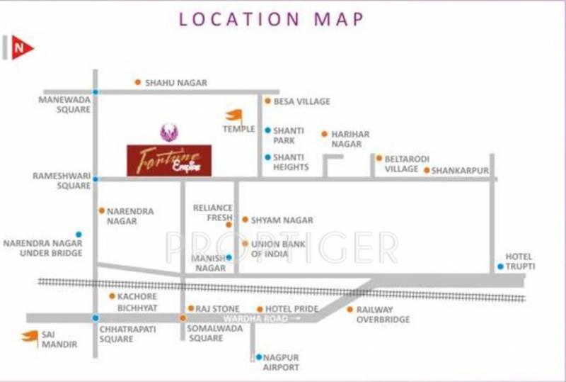 radiance-erectors-pvt.-ltd fortune-empire Location Plan