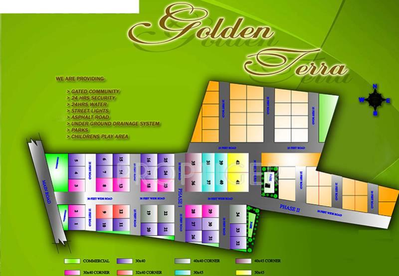 l7-developers golden-terra-phase-1 Layout Plan