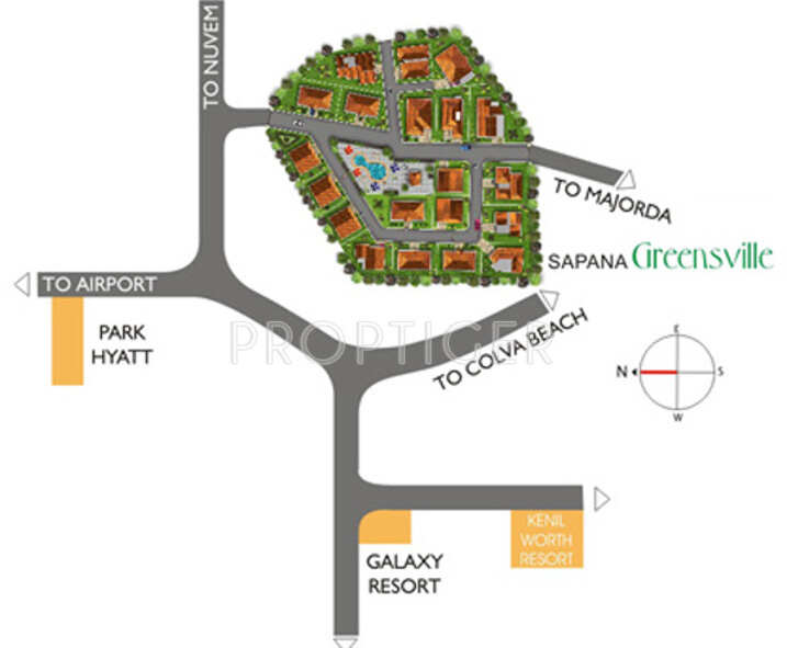 Images for Location Plan of Nanu Sapana Greensville