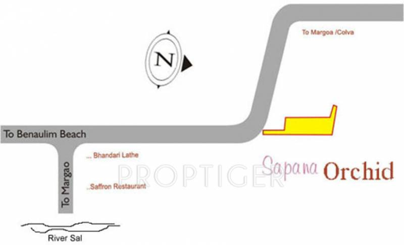 Images for Location Plan of Nanu Sapana Orchid