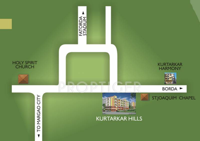 kurtarkar-real-estate hills Location Plan