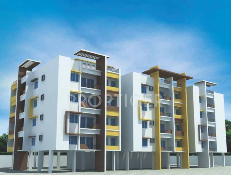 Images for Elevation of Saffron Bougain Apartment
