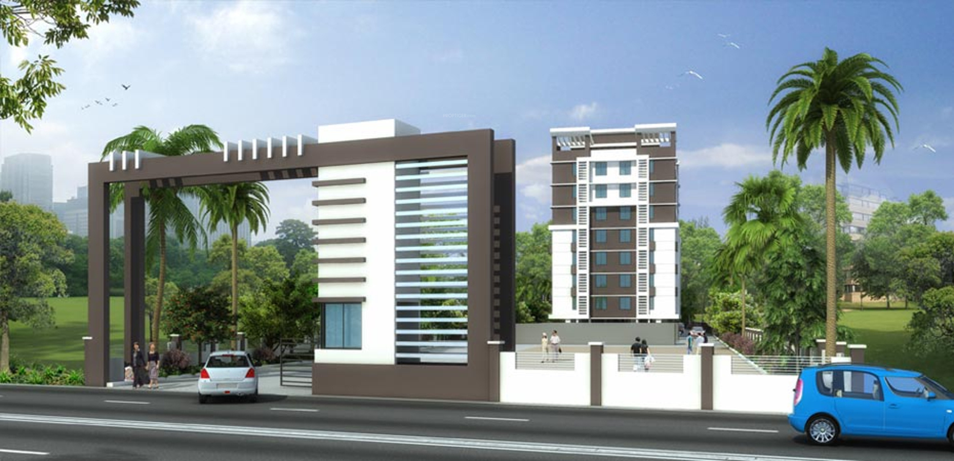 Entrance Gate Designs Front Elevation Ideas : Sq ft bhk t apartment for sale in surya developer