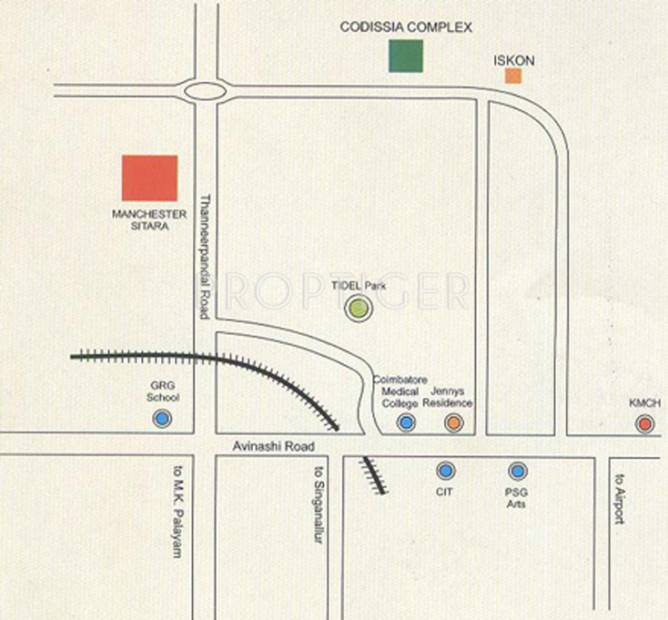 Images for Location Plan of Cotton Manchester Sitara