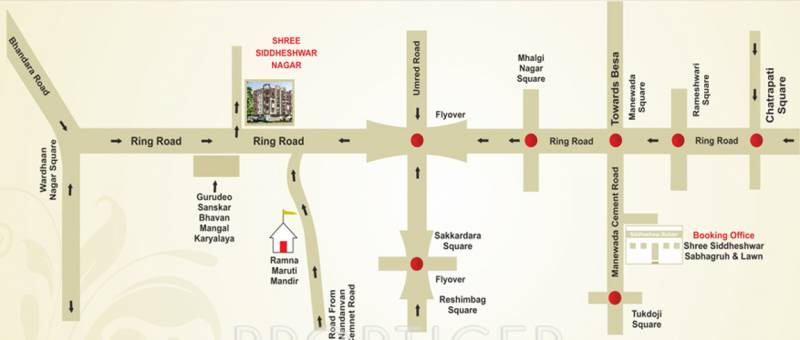 Images for Location Plan of Shree Siddheshwar Gananayak Apartment