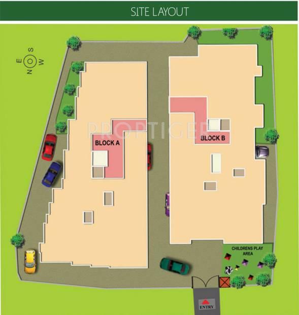Images for Layout Plan of Aishwarya Homes Chennai Infiniti