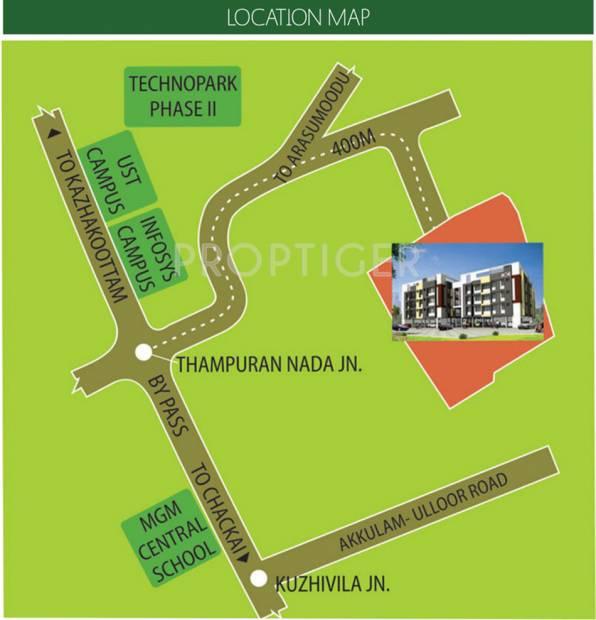 Images for Location Plan of Aishwarya Homes Chennai Infiniti
