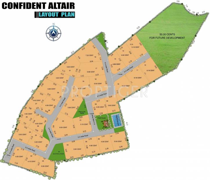 Images for Layout Plan of Confident Altair