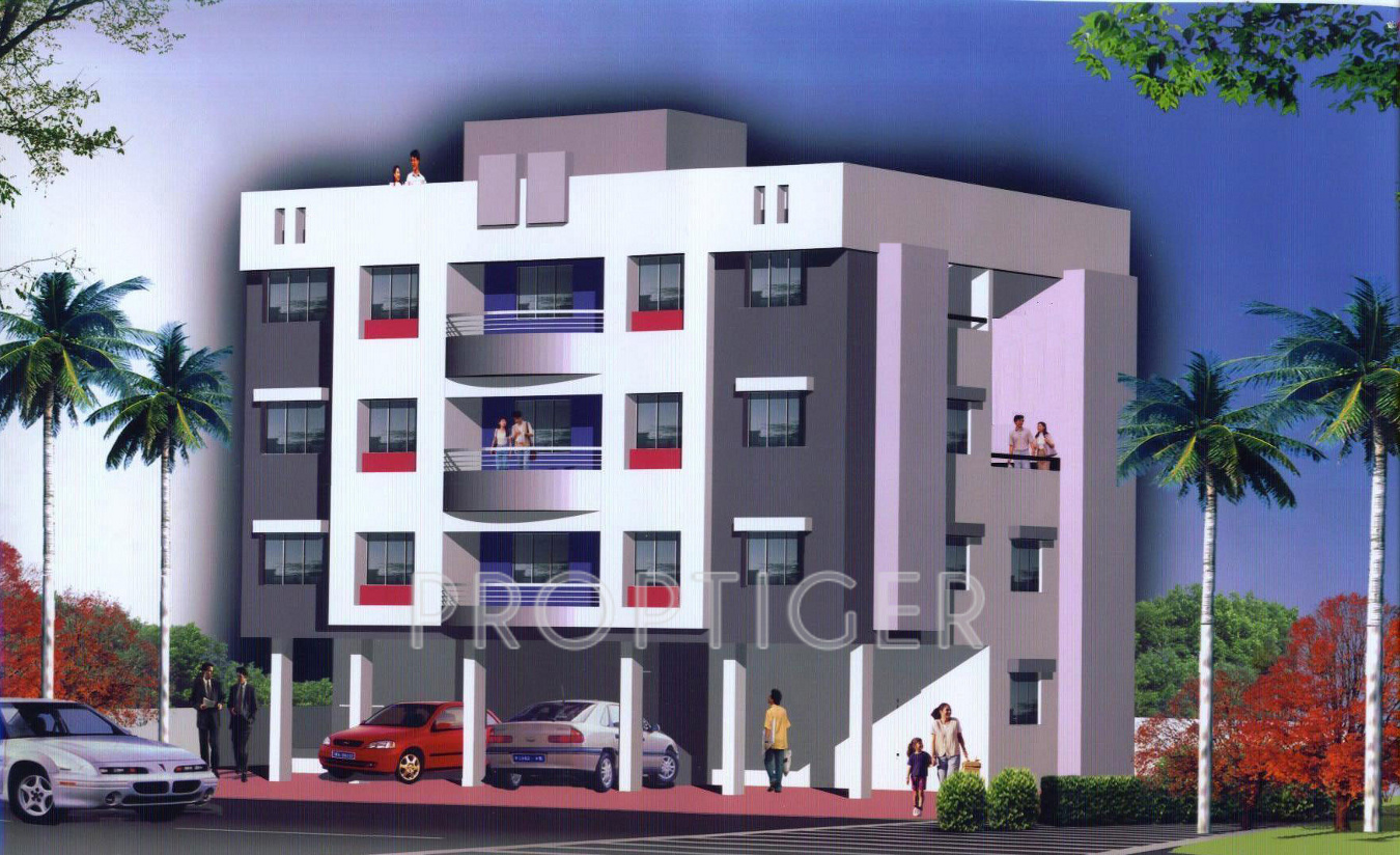 320 sq ft 1 BHK Floor Plan Image - Subhadra Estates Royale Town