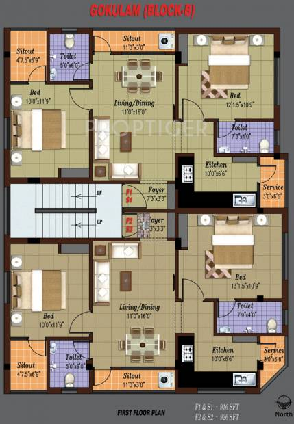 Images for Cluster Plan of Abhishek Gokulam