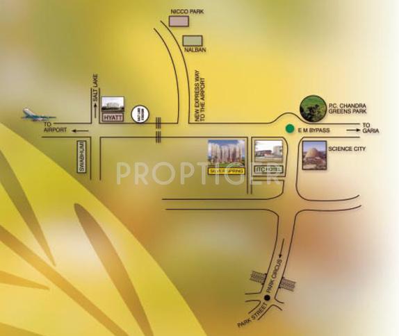 silver-spring Location Plan