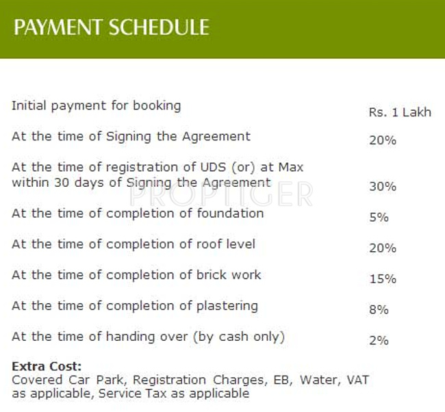Images for Payment Plan of Marutham Castle