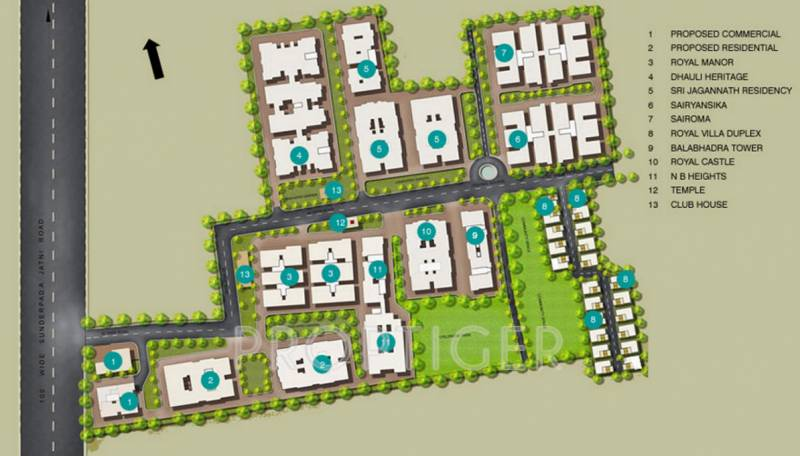 Images for Master Plan of Trellis N B Heights