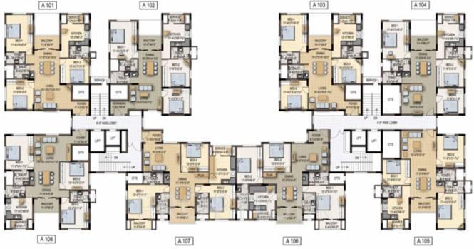 Images for Cluster Plan of Cordon Central Park