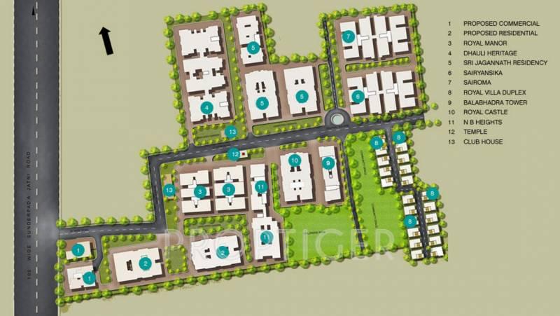 Images for Master Plan of Trellis Royal Castle
