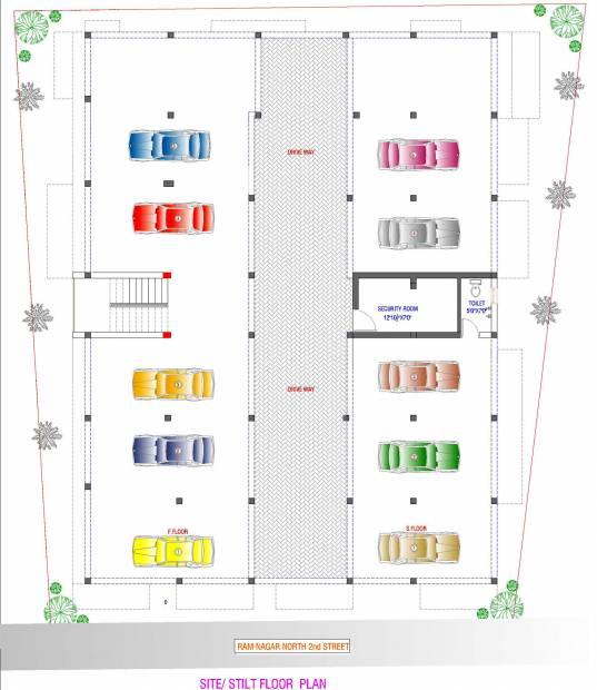 Images for Cluster Plan of Abhishek Brindavan