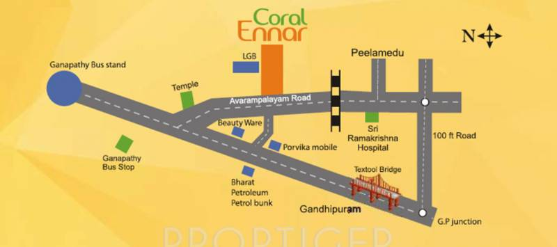 Images for Location Plan of Coromandel Coral Ennar