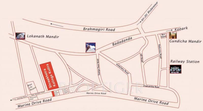 shreekhetra-kalinga-kutira-villa Location Plan
