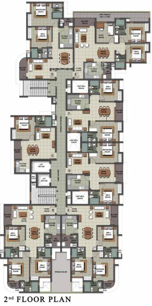 Images for Cluster Plan of Sreerosh Midtown