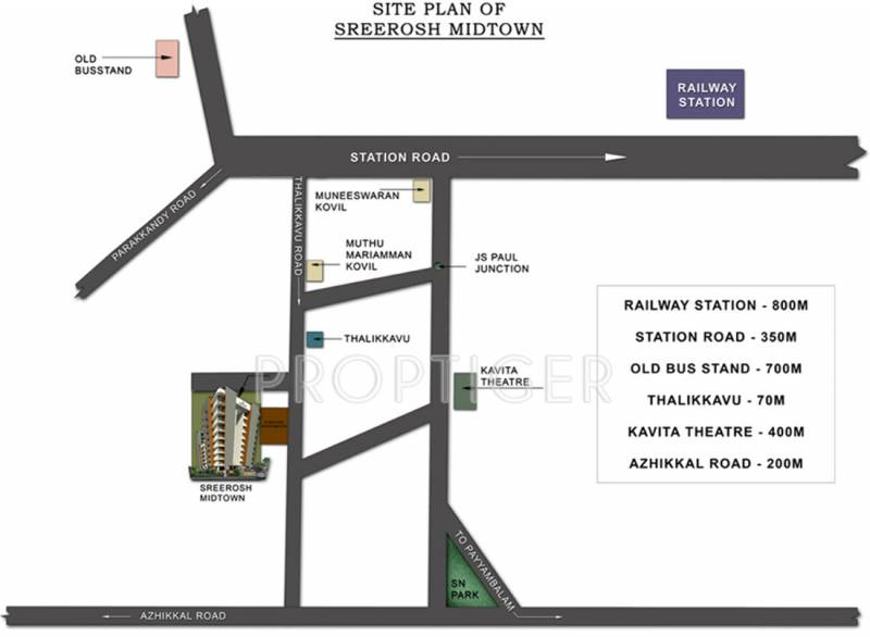 Images for Location Plan of Sreerosh Midtown