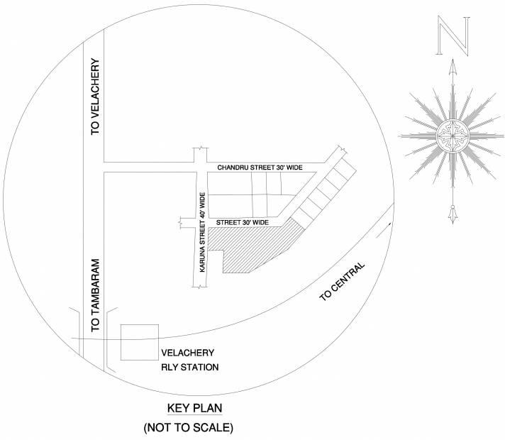Images for Location Plan of Ramaniyam Sarovar