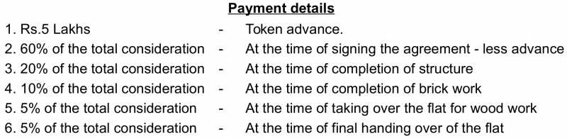 Images for Payment Plan of Ramaniyam Sarovar