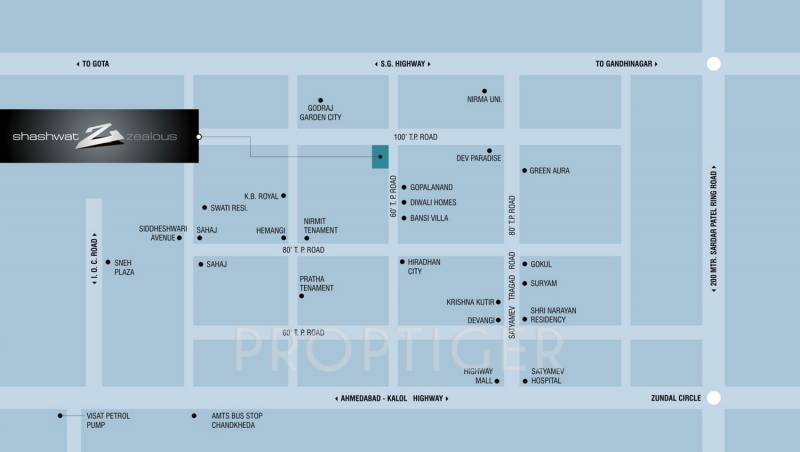 Images for Location Plan of Shashwat Zealous