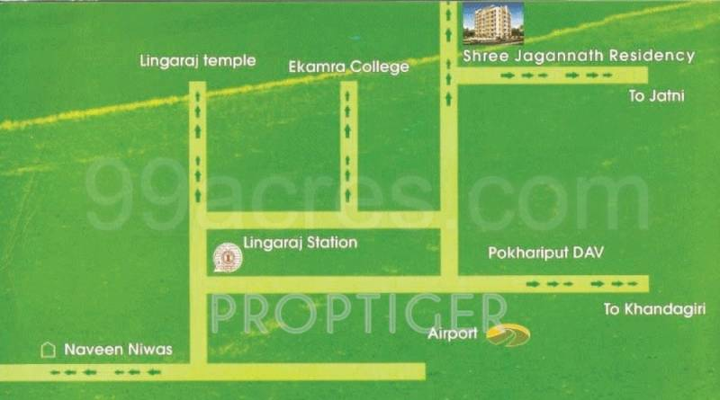Images for Location Plan of Shree Jagannath Properties and Developers Shree Jagannath Residency