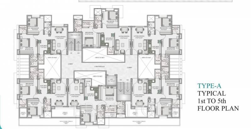 Images for Cluster Plan of Revati Royal Gayatri Park