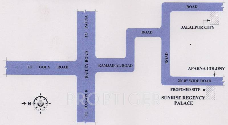 Images for Location Plan of Sunrise Regency Palace