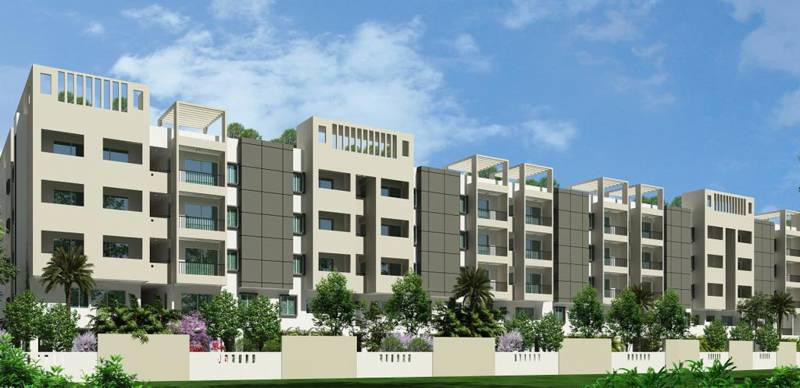 basil-apartments Images for Elevation of KSR Basil Apartments