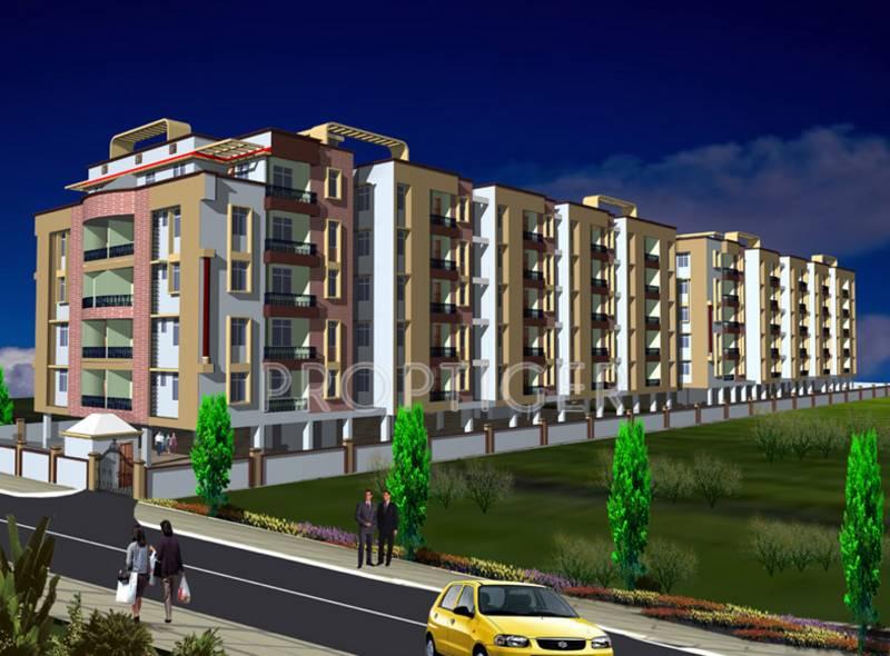 Images for Elevation of Sunrise Narayan Palace
