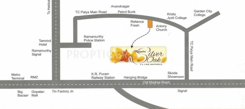 sree-malyadri-developer silver-oak Location Plan