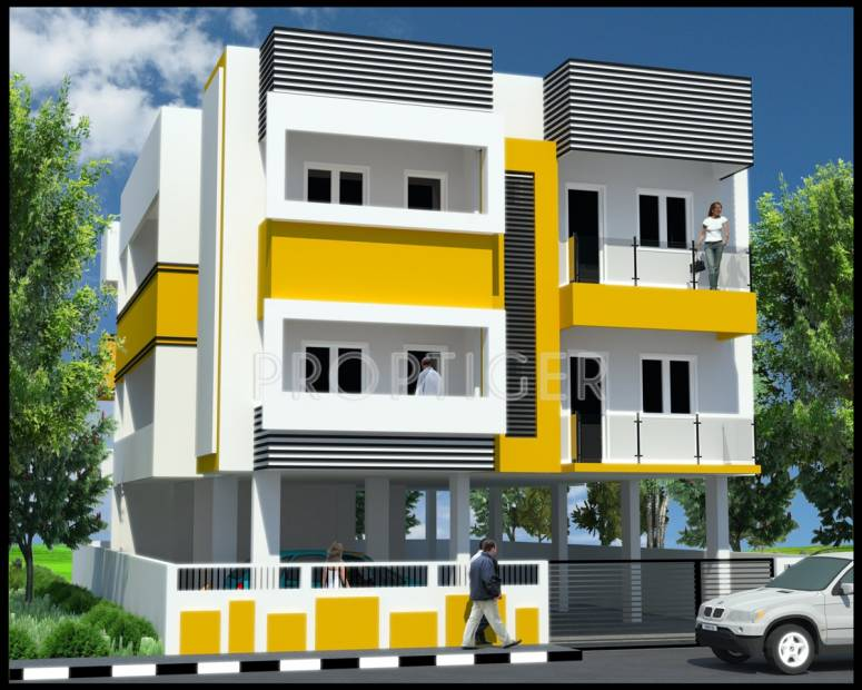 Images for Elevation of Ramaniyam Real Estates Meenakshi