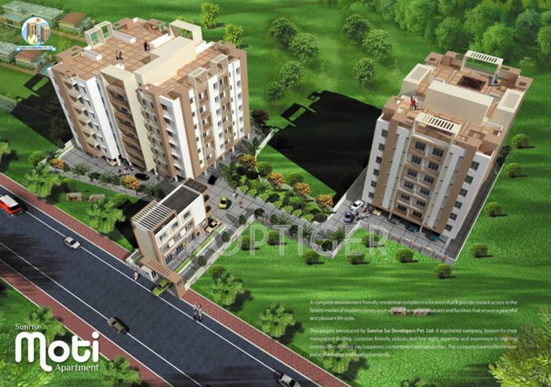 Images for Elevation of Sunrise Moti Apartment