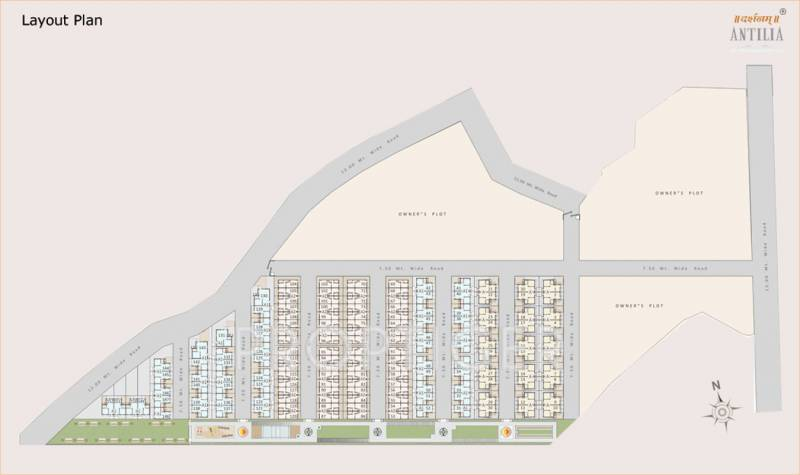 Images for Layout Plan of Darshanam Antilia