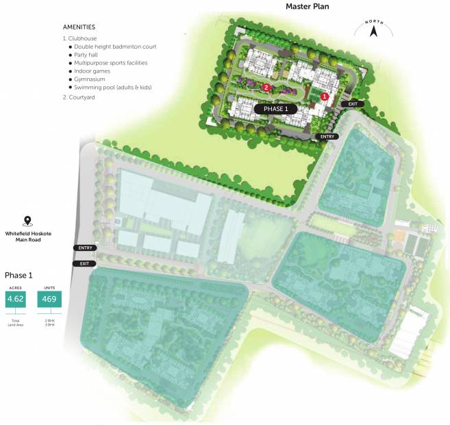 Images for Master Plan of Assetz Marq