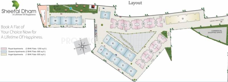 Images for Layout Plan of Sheetalnath Dham
