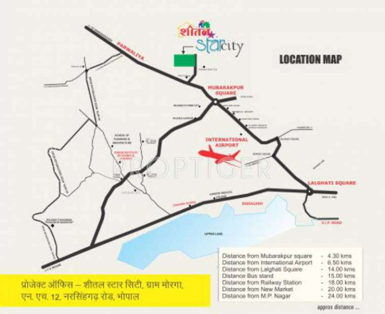 Images for Location Plan of Sheetalnath Star City