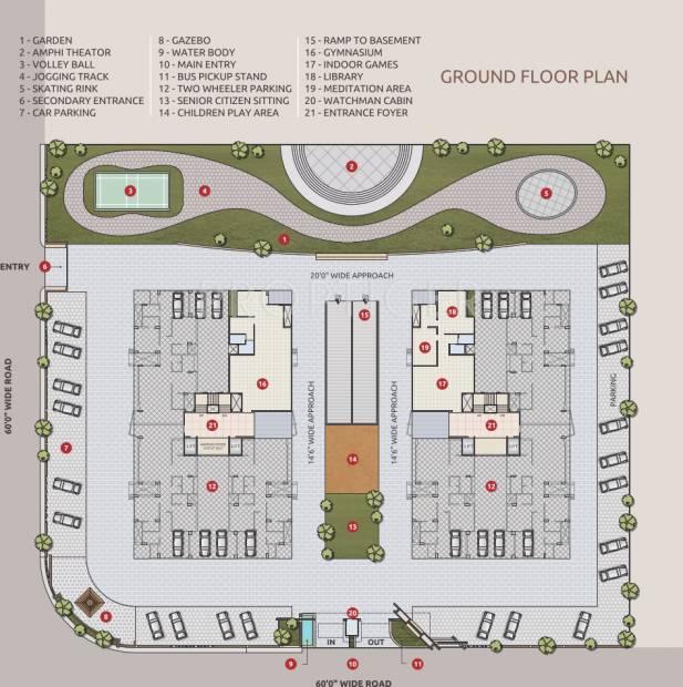 Images for Cluster Plan of Yashasvi Siddhi Ellipse