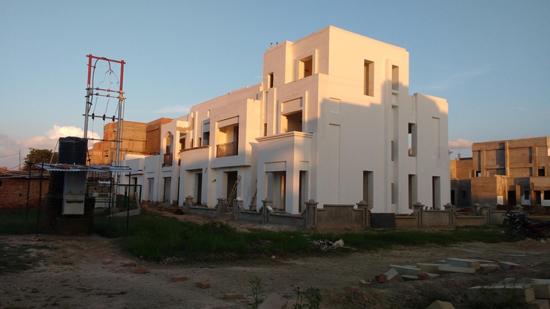 1747 sq ft 3 bhk 3t villa for sale in shalimar garden bay for Construction villa