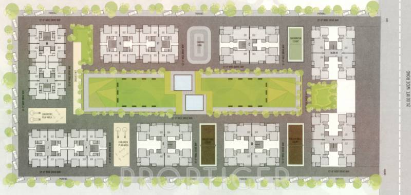 Images for Layout Plan of Shree Silicon Palm