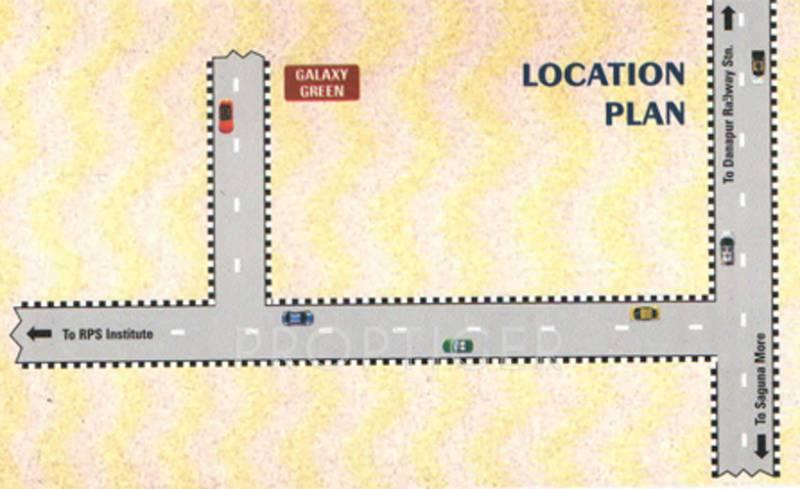 niagaree-builders galaxy-green Location Plan