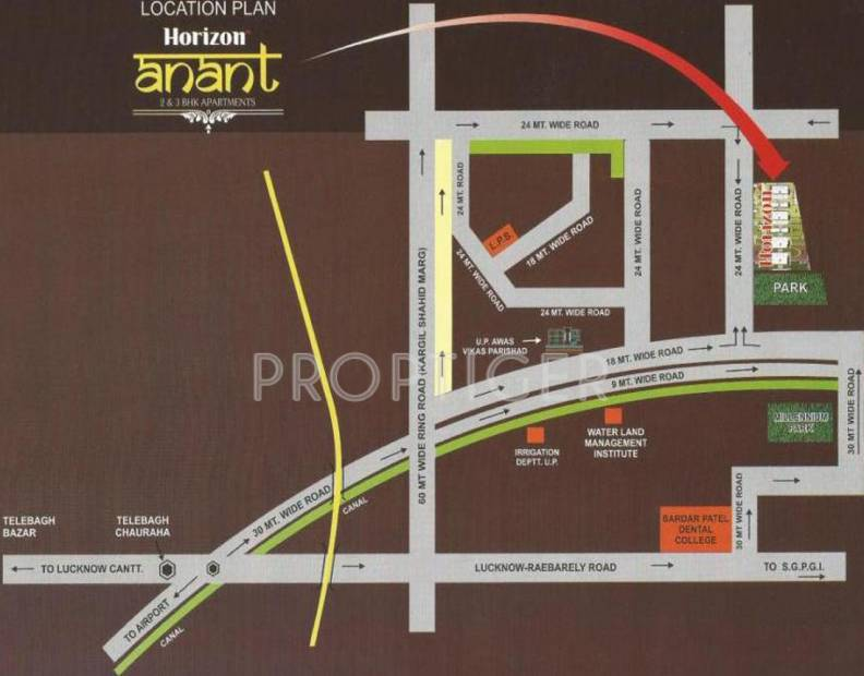 Images for Location Plan of Horizon Anant