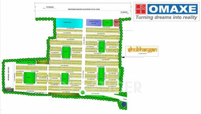 shubhangan Images for Layout Plan of Omaxe Shubhangan