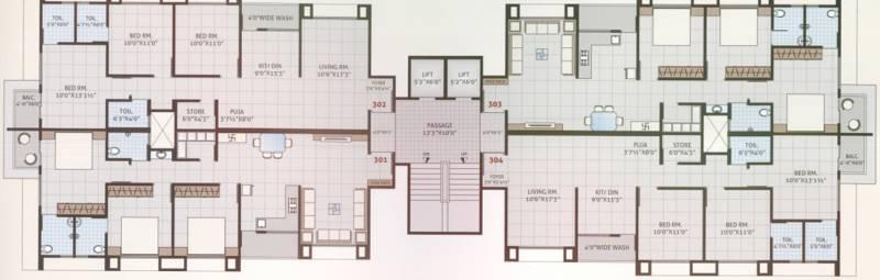 Images for Cluster Plan of Yashasvi Shivalik Status