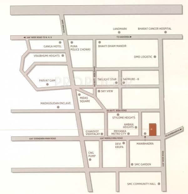 Images for Location Plan of Yashasvi Shivalik Status