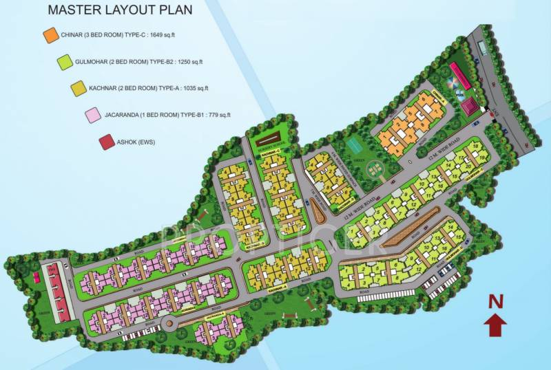 Images for Master Plan of Omaxe ParkWoods
